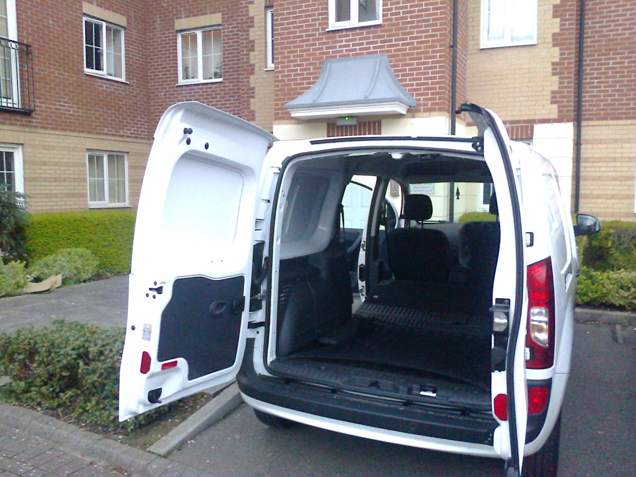 Mercedes removals van